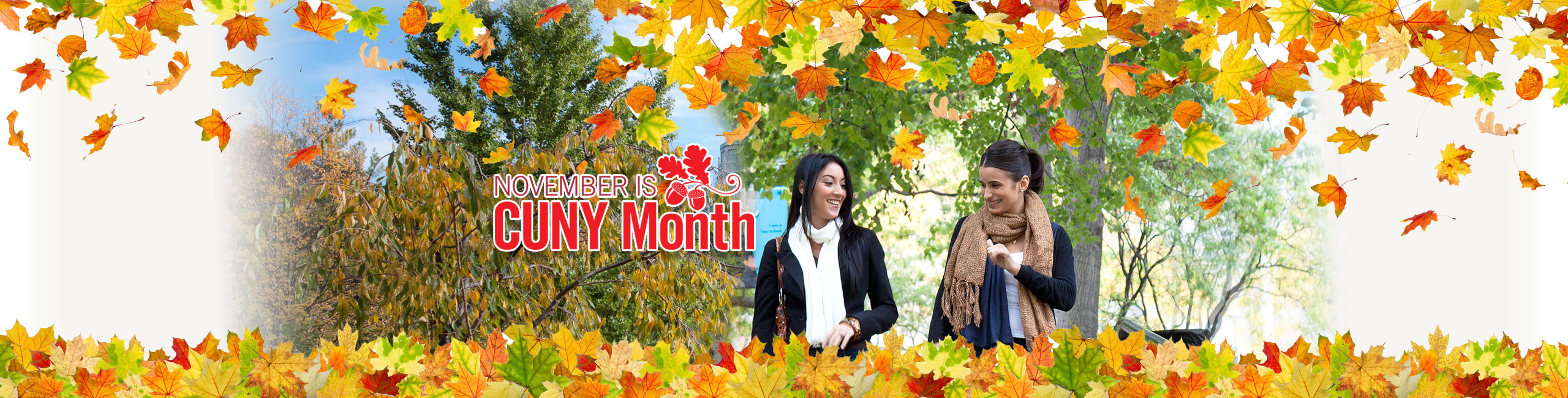 November is CUNY Month