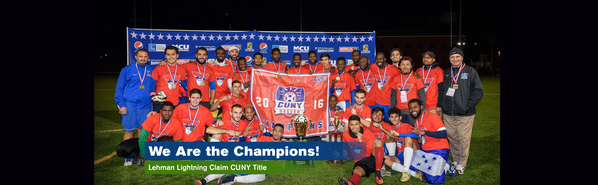 Lehman College CUNY Soccer Champions