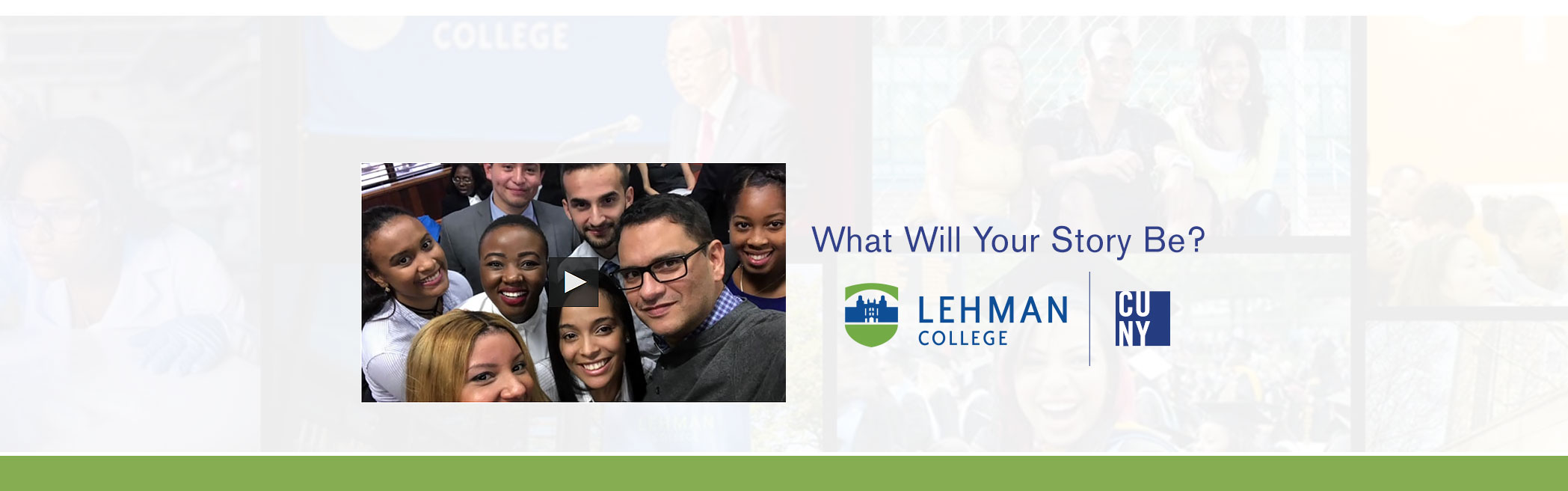 What Will Your Lehman Story Be?