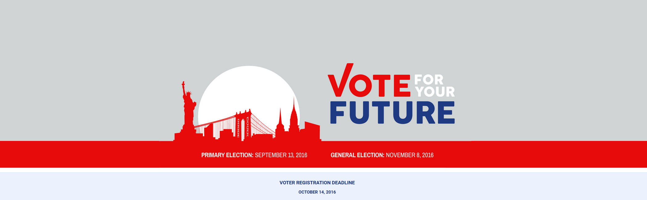 Vote for Your Future: Register to Vote