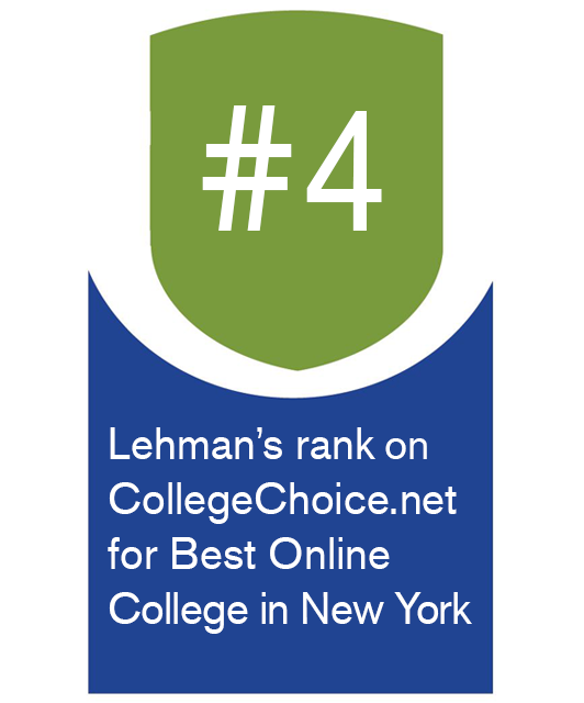 Lehman Awarded #8 Best Online/Hybrid College in New York by BestColleges.com