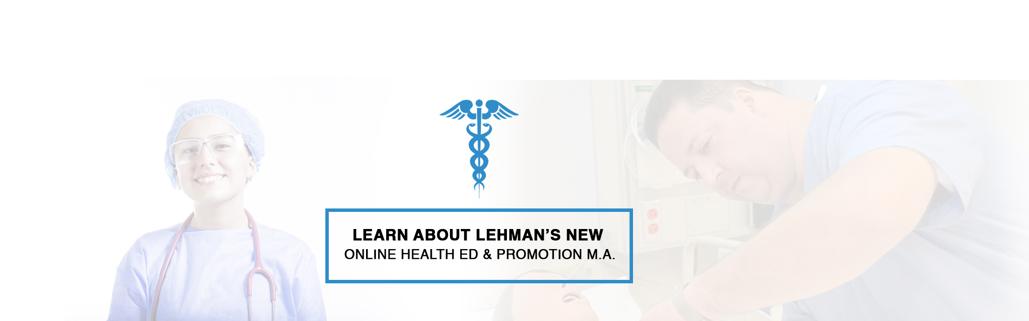 Lehman's New Online M.A. in Health Education and Promotion