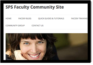 SPS Faculty Community Site