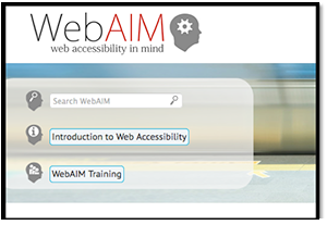 Image of WebAIM - Web Accessibility in Mind