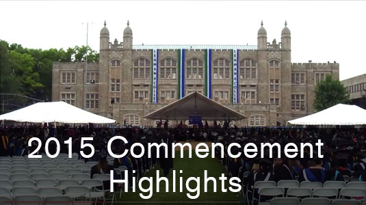 2015 Commencement Highlight Video
