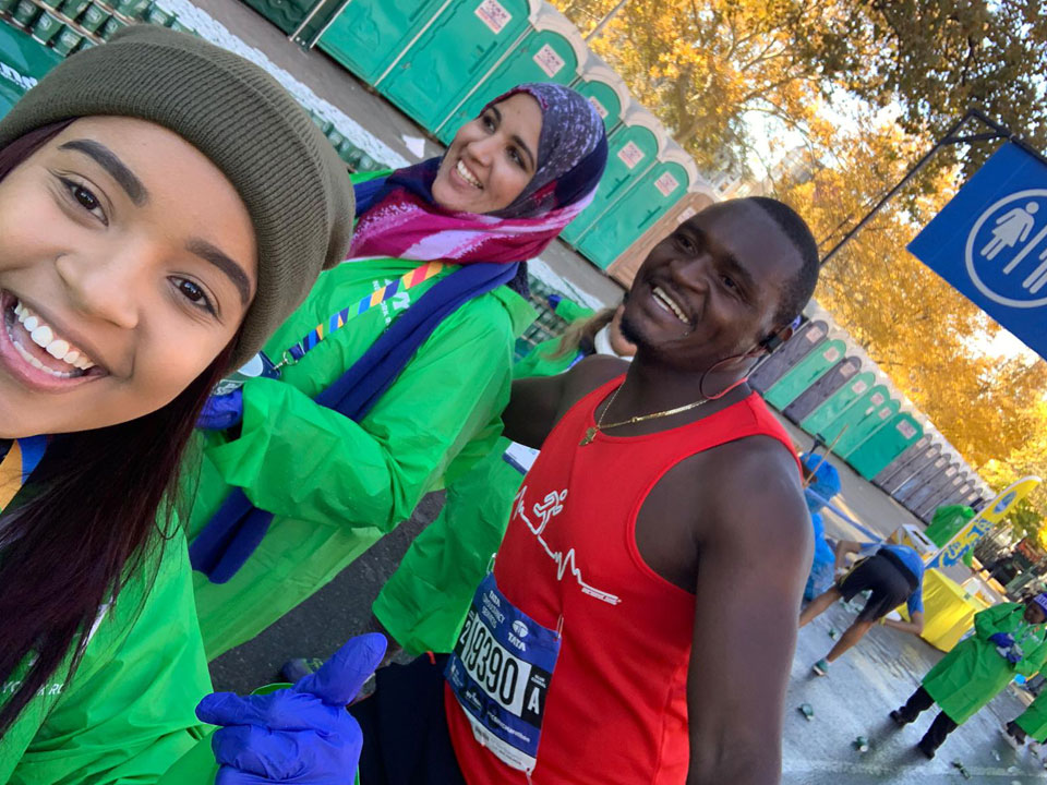 Lehman Students Raise Funds and Smiles at 2018 NYC Marathon