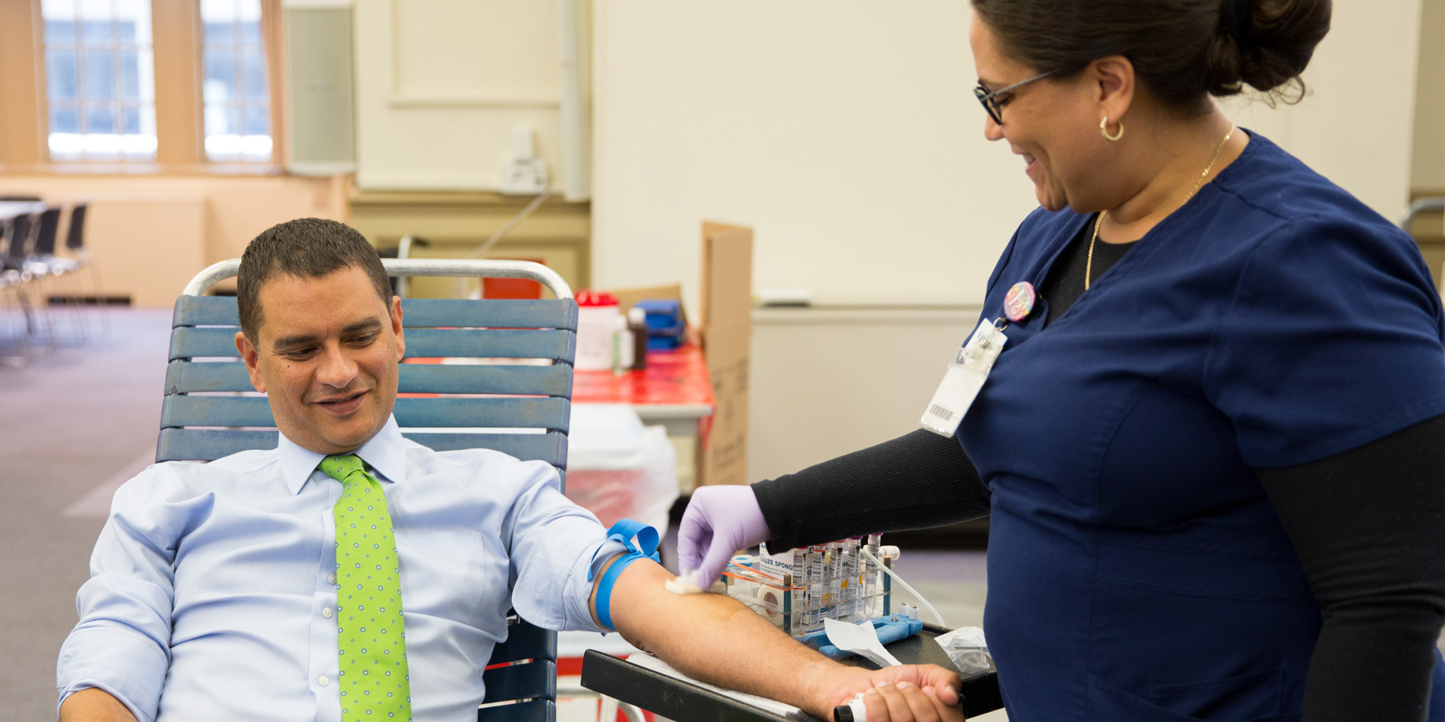 Lehman College Blood Drive on July 25 and 26
