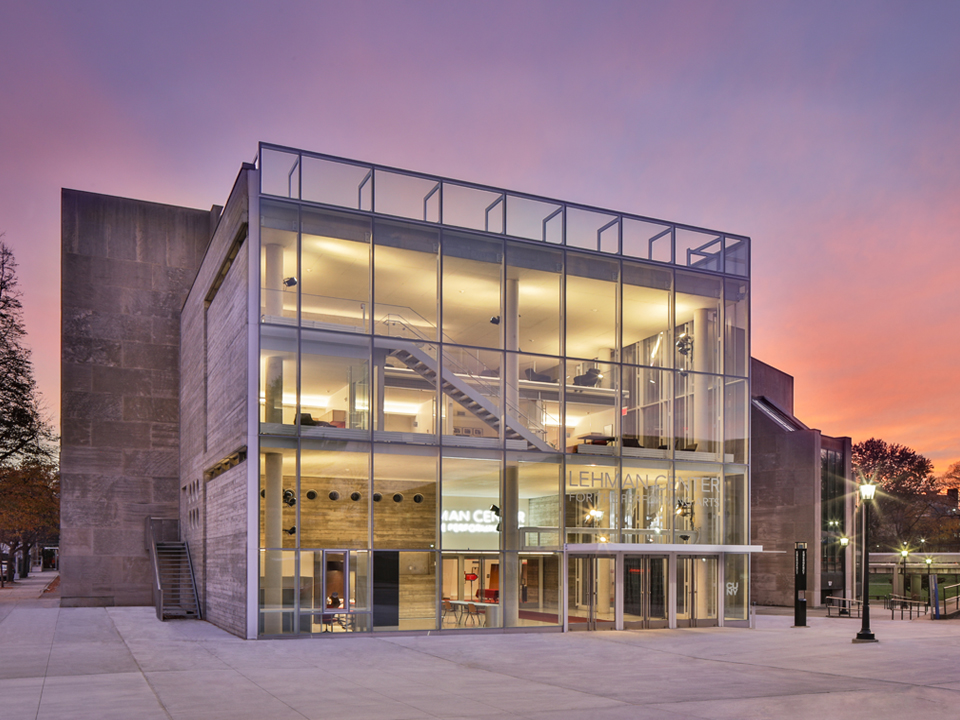 The Lehman Center for the Performing Arts has won a 2020 American Architecture Award for design excellence.