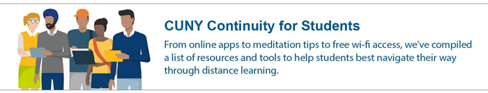 CUNY Continuity for Students